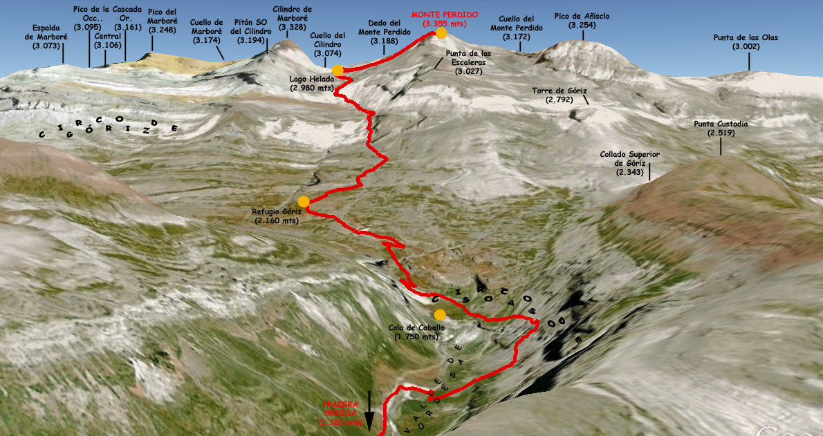 01_Mapa 3D Monte Perdido (3355 mts)